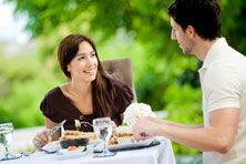 Couple-dining