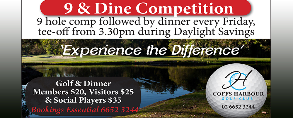 9 & Dine Summer Competition