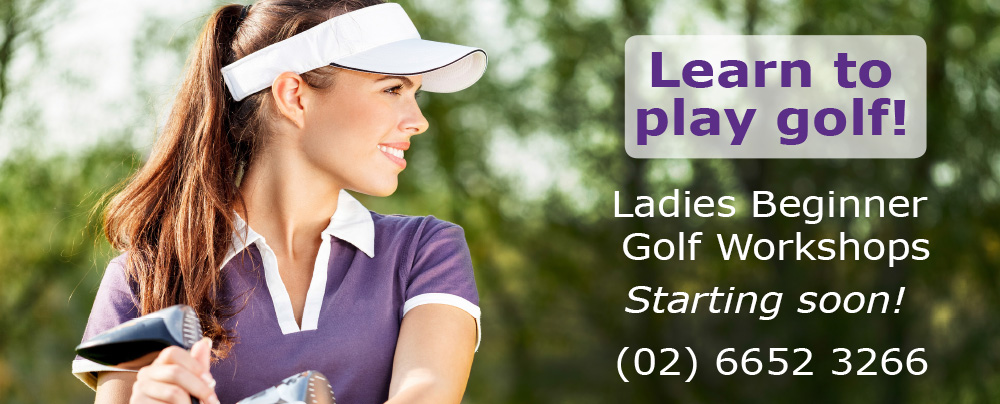 Ladies Beginners Golf Workshops
